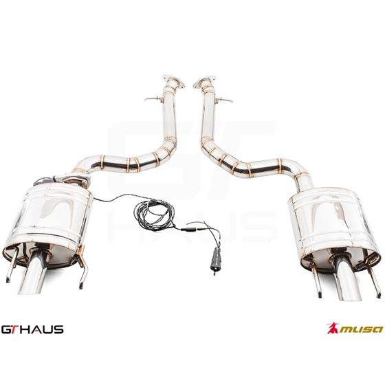 GTHAUS GTC Exhaust (EV Control)- Stainless- LE03-2