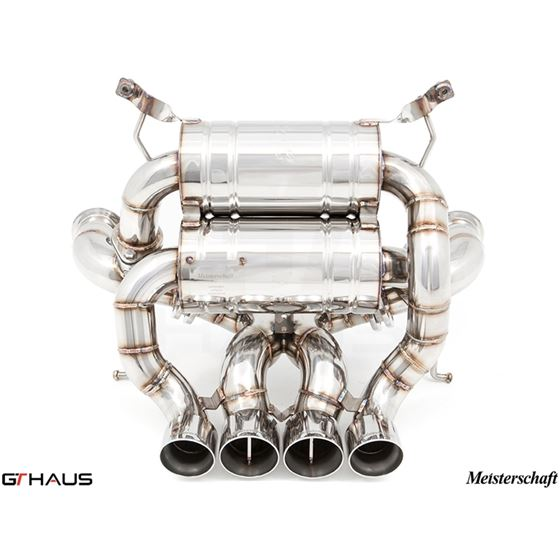 GTHAUS Super GT Racing Exhaust- Titanium- LA0312-2