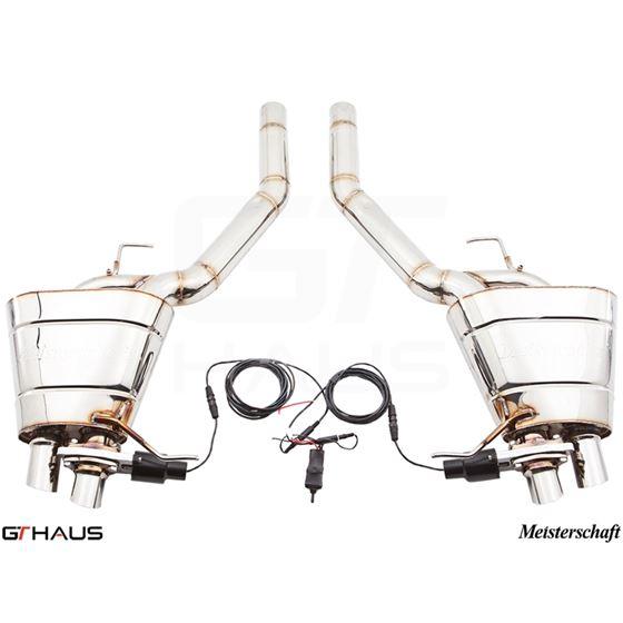 GTHAUS GTC Exhaust (EV Control)- Stainless- BM18-2