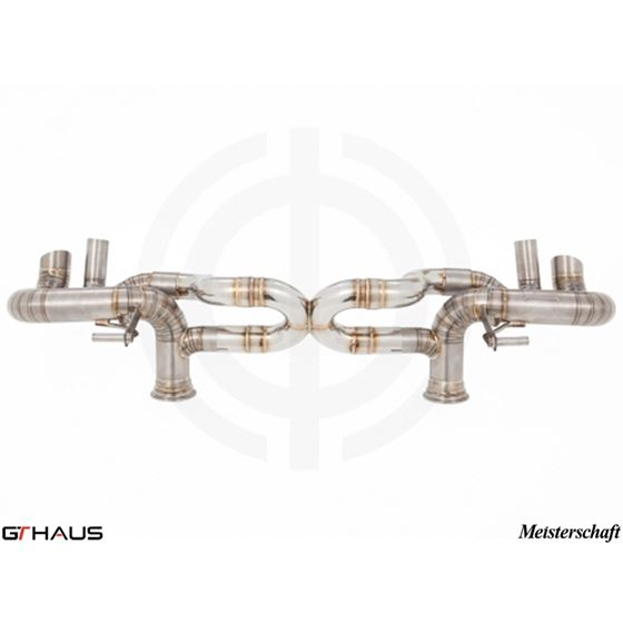 GTHAUS Super GT Racing Exhaust- Titanium- LA0132-4