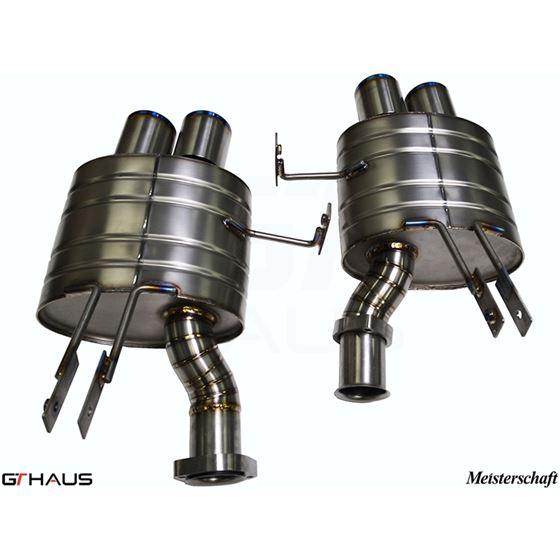 GTHAUS GT Racing Exhaust- Titanium- BM2022204-4