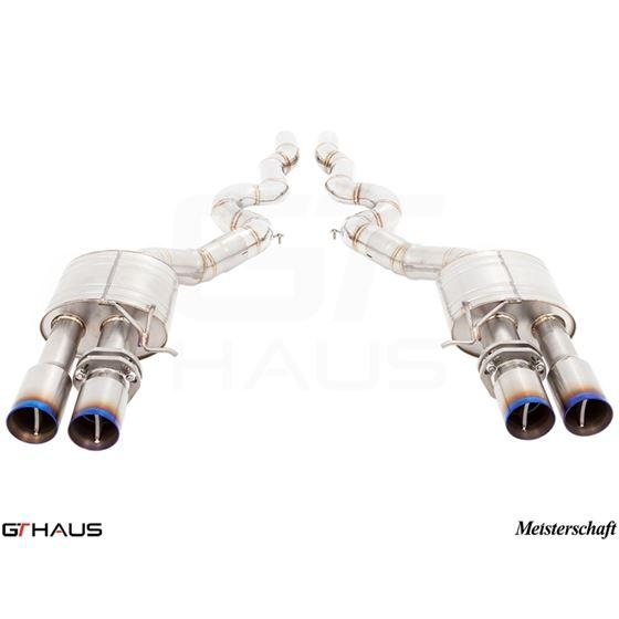 GTHAUS Super Light GT Racing Exhaust (Ti Rear Un-4