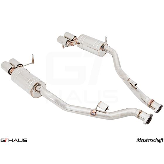 GTHAUS HP Touring Exhaust- Stainless- BM1911104-4