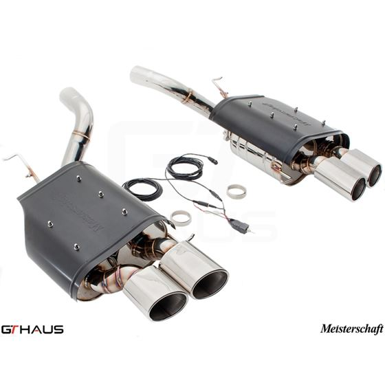 GTHAUS GTC Exhaust (EV Control) AL Shield Includ-2