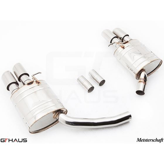 GTHAUS HP Touring Exhaust- Stainless- AU0811104-4