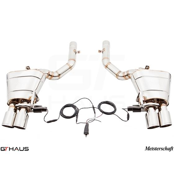 GTHAUS GTC Exhaust (EV Control)- Stainless- BM15-2