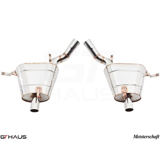 GTHAUS GT Racing Exhaust- Stainless- BM2211200-2
