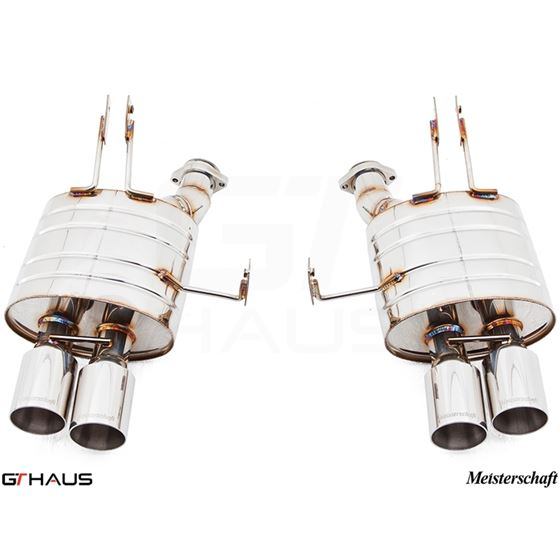 GTHAUS HP Touring Exhaust- Stainless- BM2021104-2