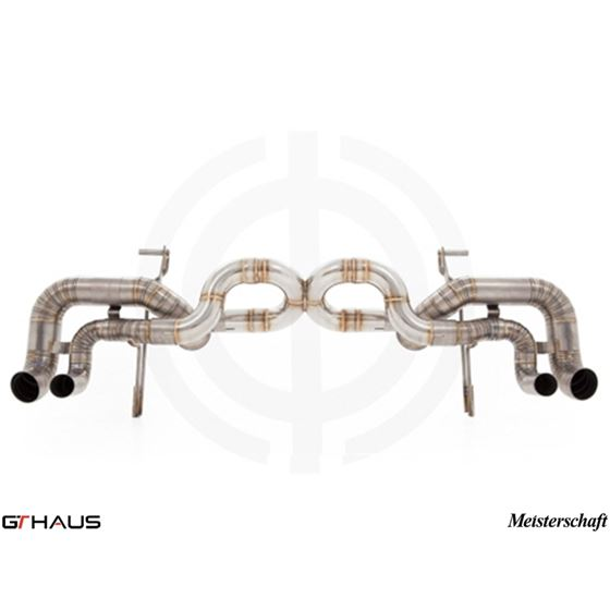 GTHAUS Super GT Racing Exhaust- Titanium- LA0132-2
