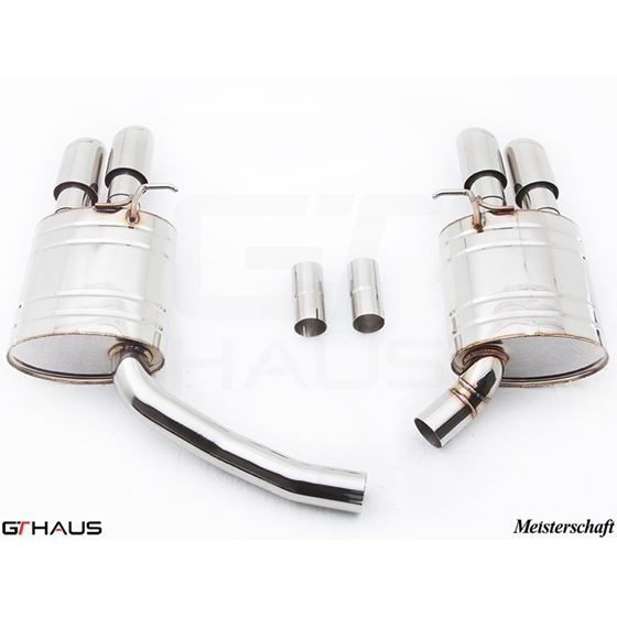 GTHAUS GT Racing Exhaust- Stainless- AU0821204-2