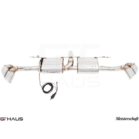 GTHAUS GTC Exhaust (EV Control)- Stainless- BM24-2