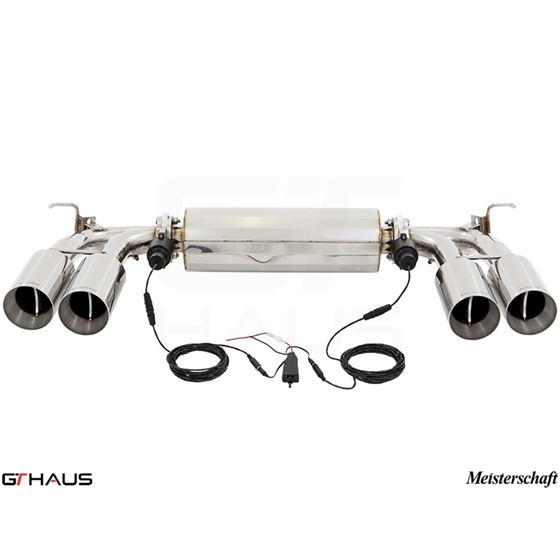 GTHAUS GTC Exhaust (EV Control)- Stainless- BM30-2
