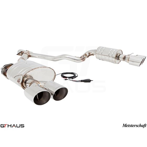 GTHAUS GTC Exhaust (EV Control)- Stainless- BM21-2