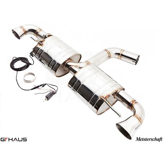 GTHAUS GTC Exhaust (EV Control)- Stainless- AU03-4