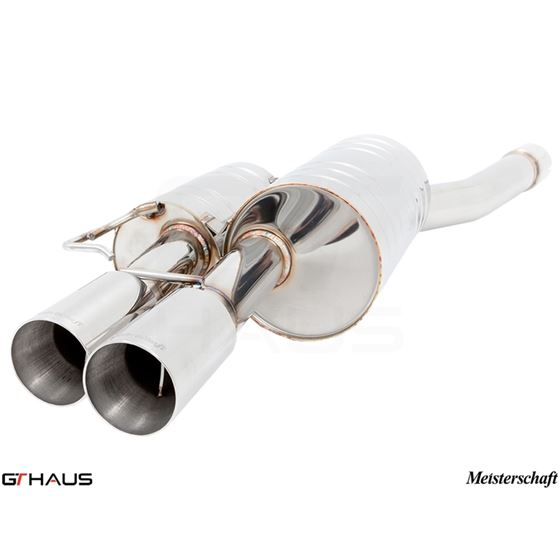 GTHAUS GT Racing Exhaust- Titanium- BM0942201-2