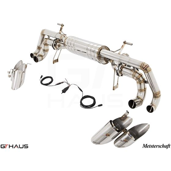 GTHAUS GTC Exhaust (EV Control)- Stainless- LA04-4