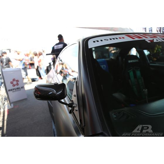 APR Performance Universal Formula 3 Carbon Fiber Mirror/Larger Lens (CB-100004B)