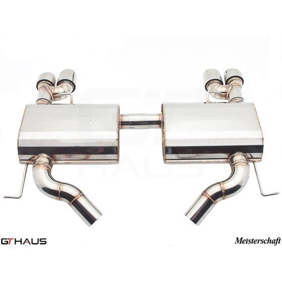 GTHAUS GT Racing Exhaust- Stainless- BM0421204-4