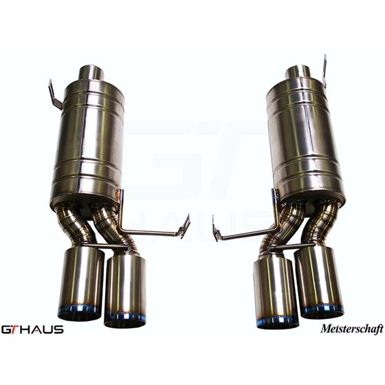 GTHAUS GT Racing Exhaust- Titanium- BM1922204-2
