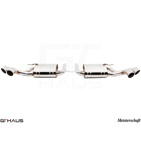 GTHAUS HP Touring Exhaust- Stainless- BM2411103-2
