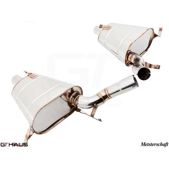 GTHAUS GT Racing Exhaust- Stainless- BM2211200-4