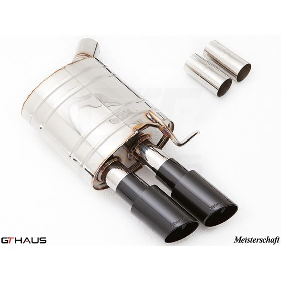 GTHAUS GT Racing Exhaust- Stainless- AU0611204-2