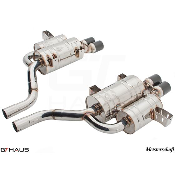 GTHAUS HP Touring Exhaust- Stainless- BM0811104-4
