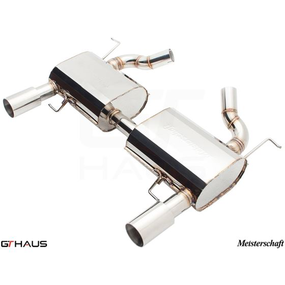 GTHAUS HP Touring Exhaust- Stainless- BM0411103-4