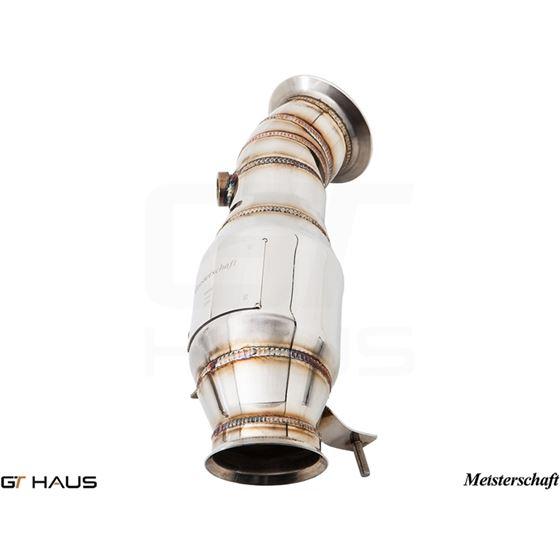 GTHAUS (N55 M235i) Turbo Back Down Pipe - no cat-2