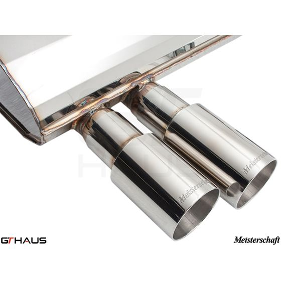 GTHAUS GT Racing Exhaust- Stainless- BM0361201-4