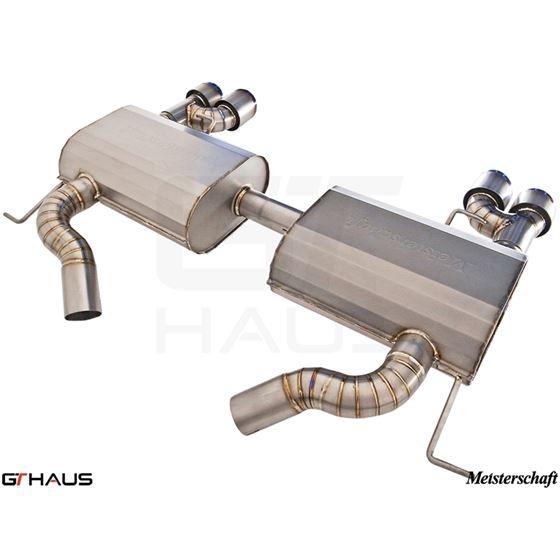 GTHAUS GT Racing Exhaust- Titanium- BM0422204-2