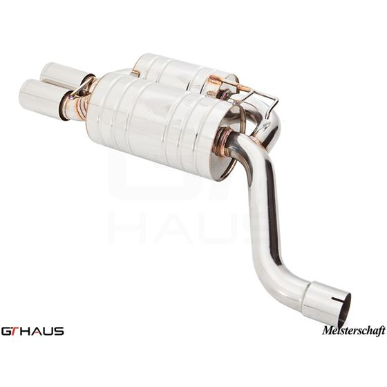 GTHAUS HP Touring Exhaust- Stainless- BM0721122-4