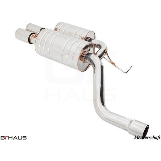 GTHAUS HP Touring Exhaust- Stainless- BM0911101-4