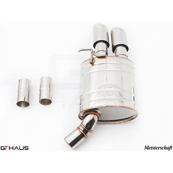 GTHAUS GT Racing Exhaust- Stainless- AU0811204-4