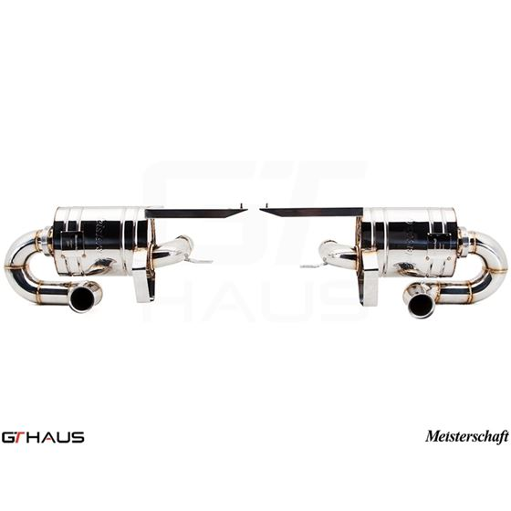 GTHAUS Super GT Racing Exhaust- Titanium- LA0122-2