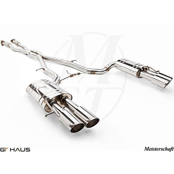 GTHAUS GTS Exhaust Ultimate Racing- Stainless- A-2