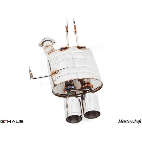 GTHAUS GT Racing Exhaust- Stainless- BM2021204-4