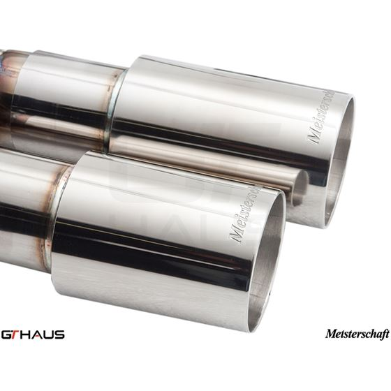 GTHAUS GT Racing Exhaust- Stainless- BM0351201-2