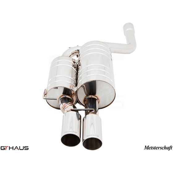 GTHAUS HP Touring Exhaust- Stainless- BM0931101-2