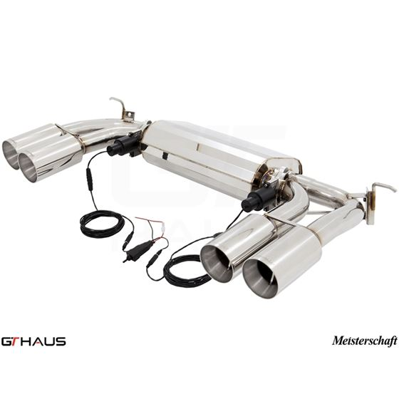 GTHAUS GTC Exhaust (EV Control)- Stainless- BM30-4