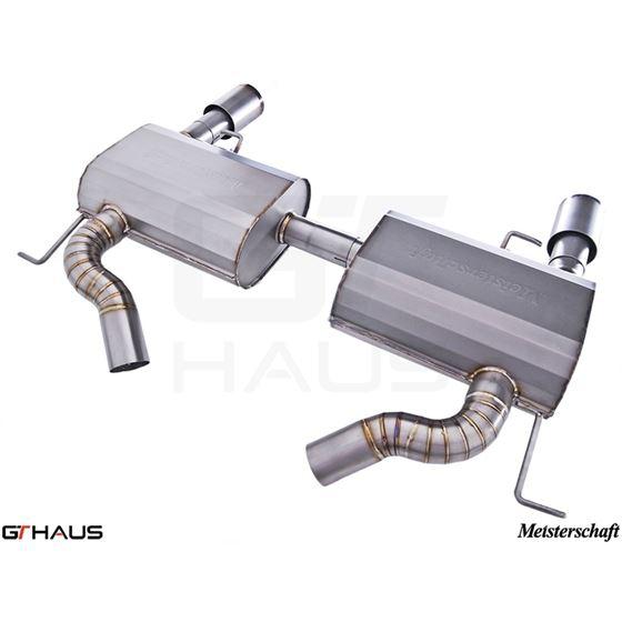 GTHAUS GT Racing Exhaust- Titanium- BM0422202-4