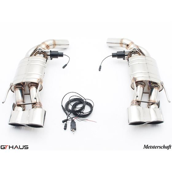 GTHAUS GTC Exhaust (EV Control)- Stainless- ME10-2