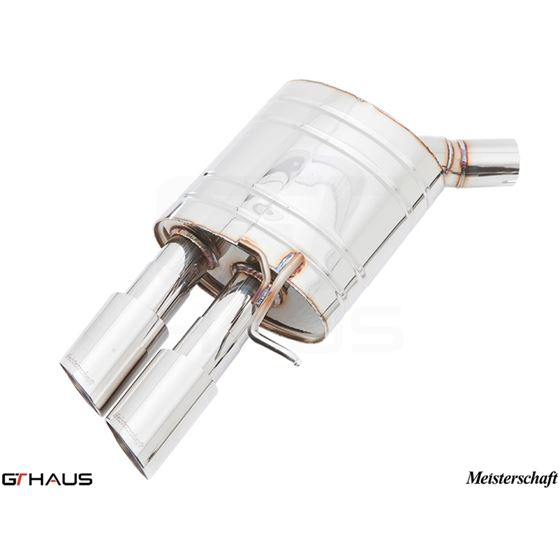 GTHAUS GT Racing Exhaust- Stainless- AU0711204-4