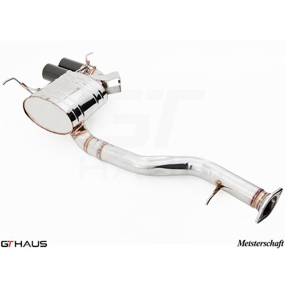 GTHAUS GT Racing Exhaust- Stainless- BM0111201-4