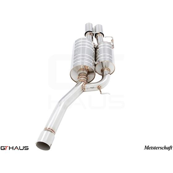 GTHAUS GT Racing Exhaust- Stainless- BM0921201-2