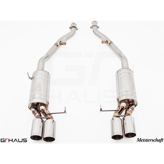 GTHAUS HP Touring Exhaust- Stainless- BM2011104-2