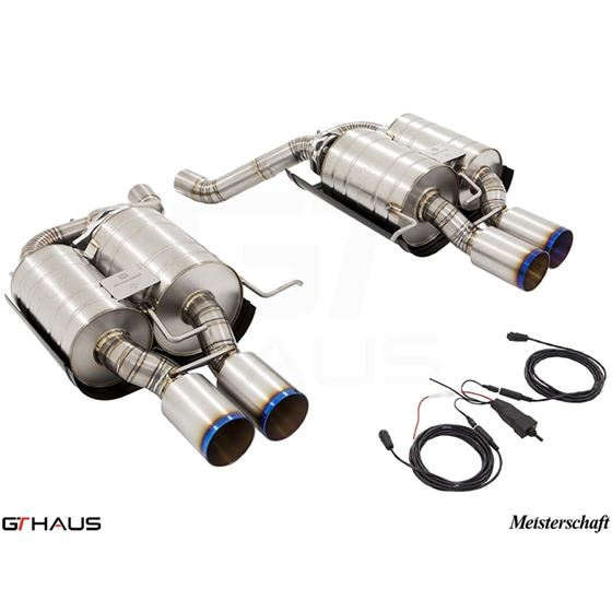 GTHAUS GTC Exhaust (EV Control) AL Shield Includ-2