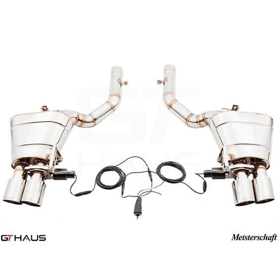 GTHAUS GTC Exhaust (EV Control)- Stainless- BM25-2