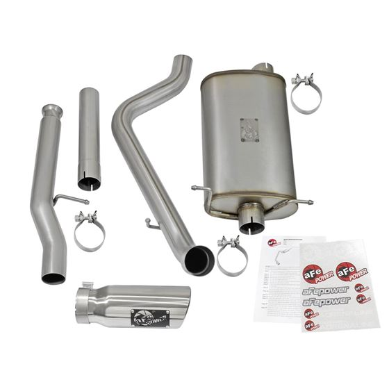 aFe MACH Force-Xp 3 IN 409 Stainless Steel Cat-B-2