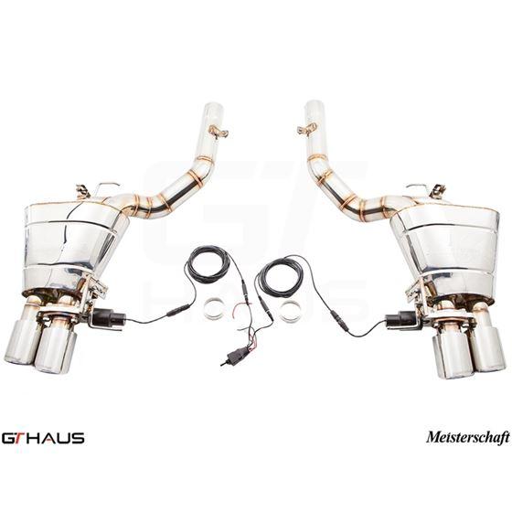 GTHAUS GTC Exhaust (EV Control)- Stainless- BM11-2